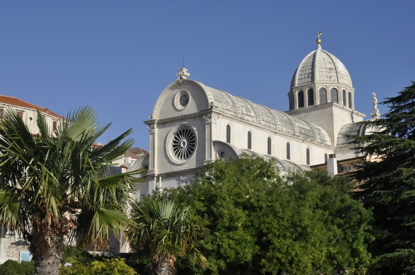 """Šibenik katedra św. Jakuba, Dalmacja miejsca w których kręcono serial """"Gra o Tron"""""""