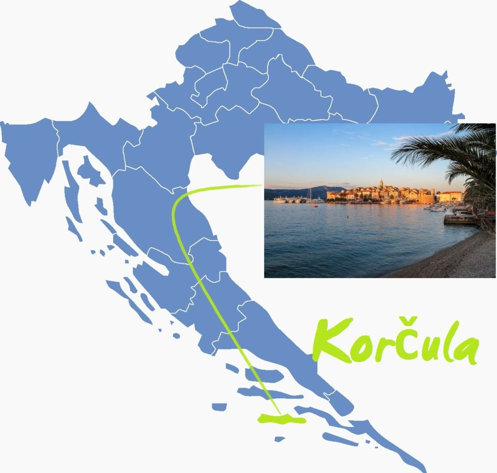 7 najlepszych wysp Chorwacji, piaszczyste plaże