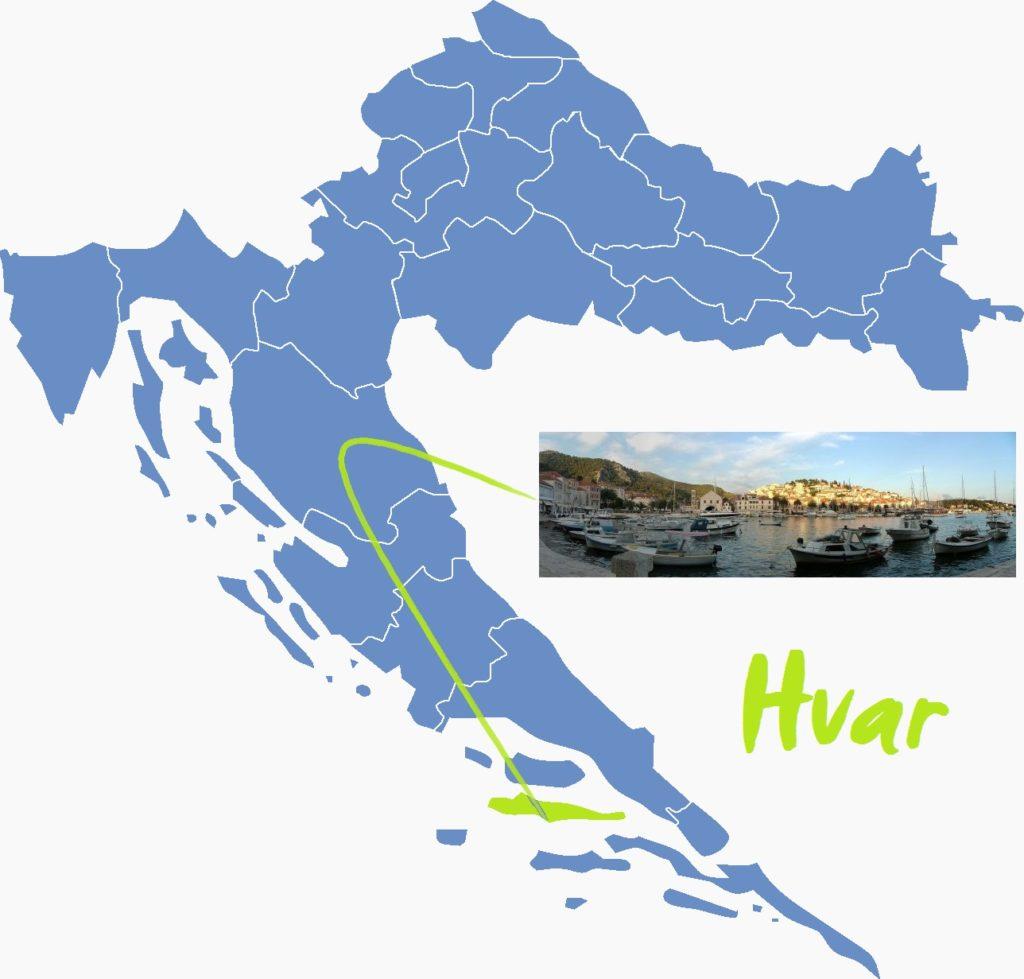 7 najlepszych wysp Chorwacji Hvar