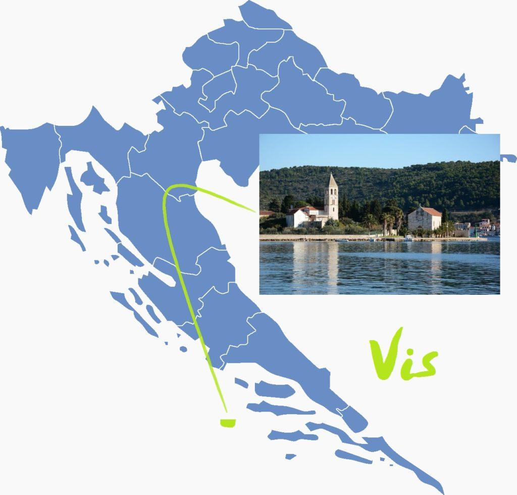 7 najlepszych wysp Chorwacji Vis