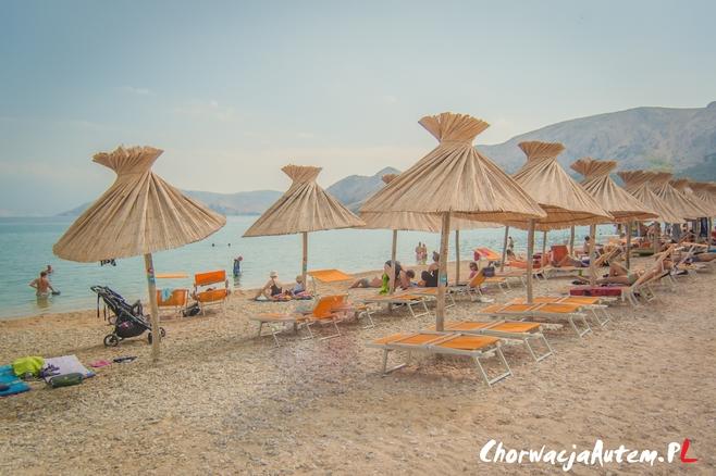 wyspa Krk piaszczyste plaże