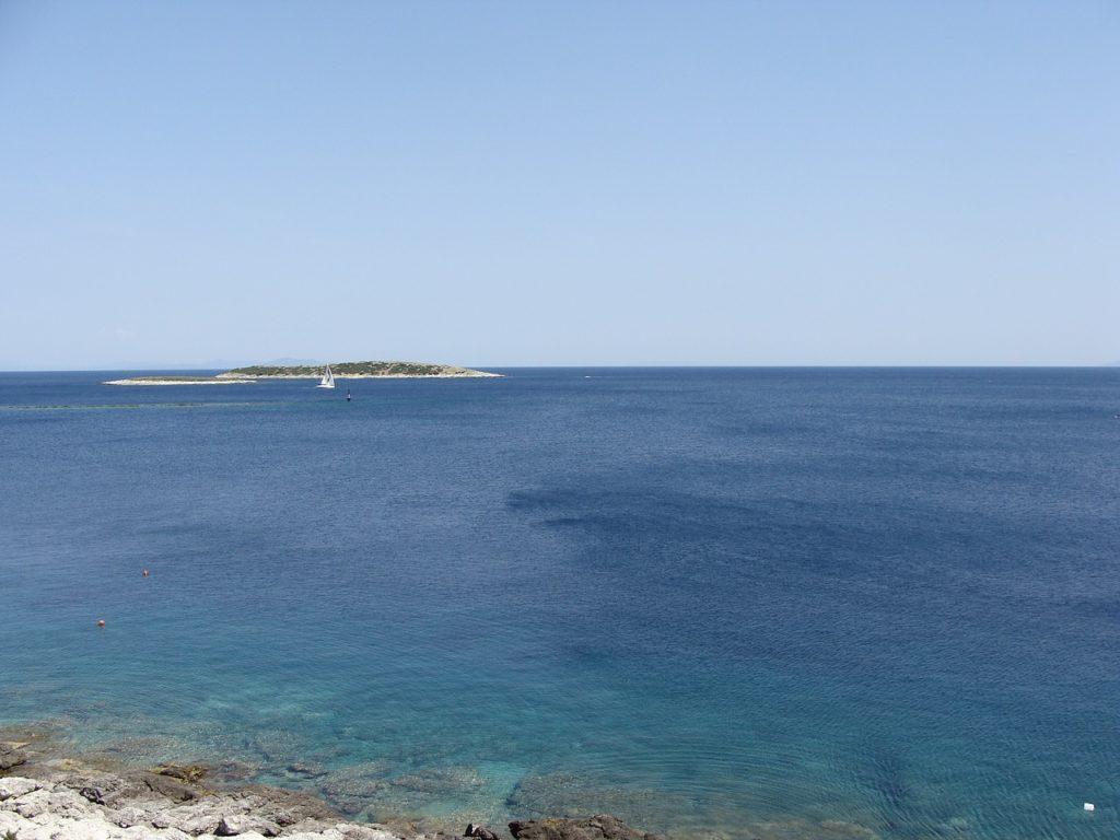 wyspa Vis, morze