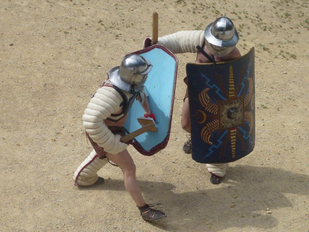 pokazy walk gladiatorów Pula