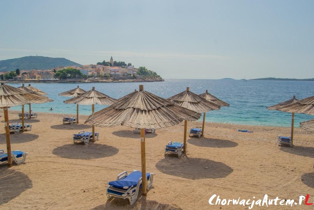 Primosten plaże