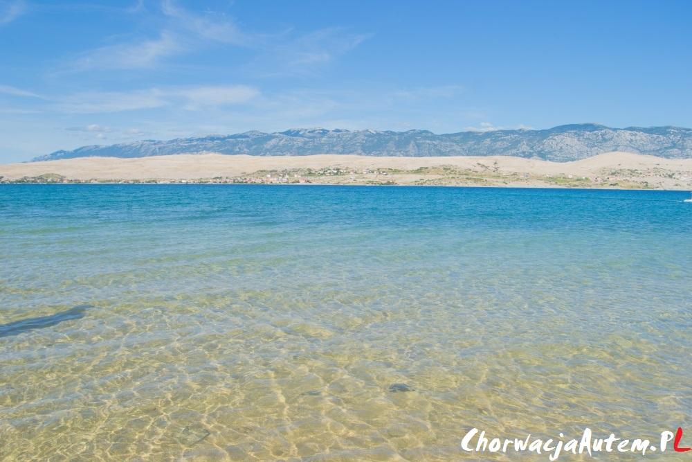 rodzinna piaszczysta plaża Sv Duh, Pag