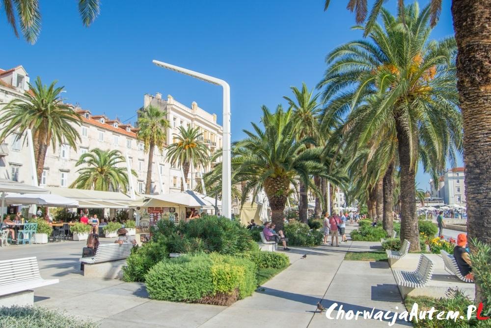 Split stolica Dalmacji, Chorwacja autem