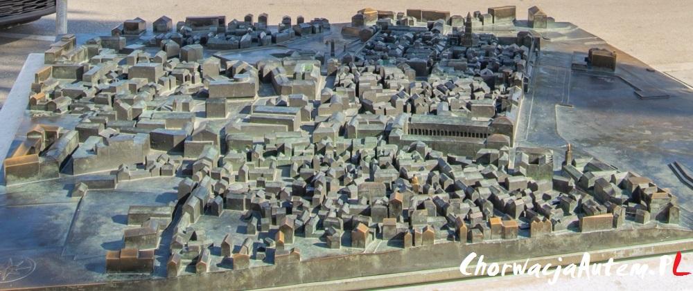 plan Split oraz Pałac Dioklecjana