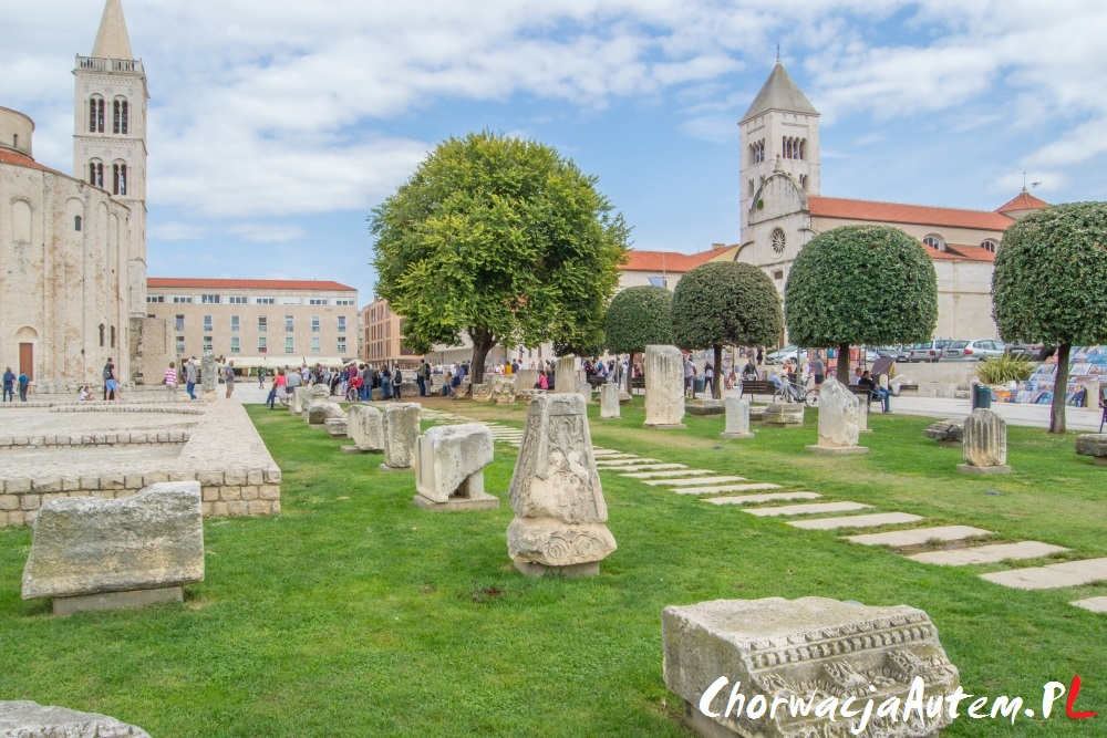 Zadar rzymskie ruiny