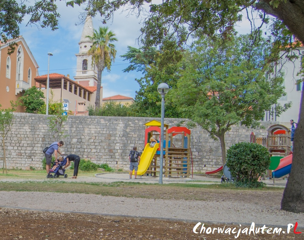 Zadar, plac zabaw