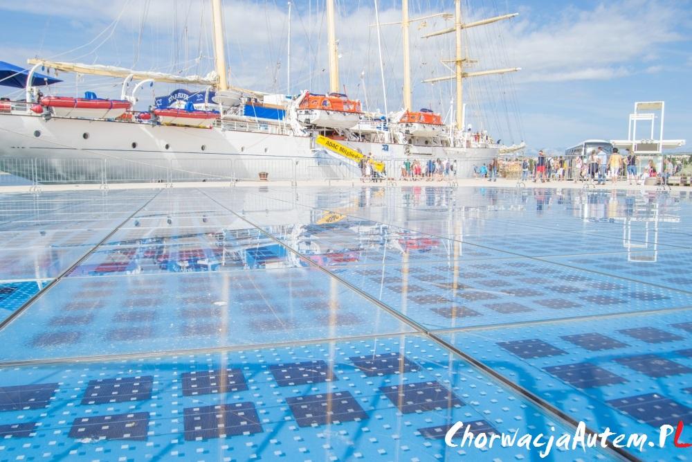 Zadar Morskie Organy oraz Powitanie Słońca
