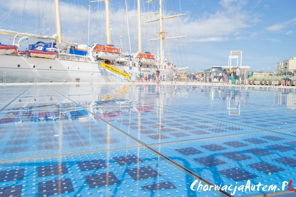 Zadar Morskie Organy oraz Pozdrowienie Słońca