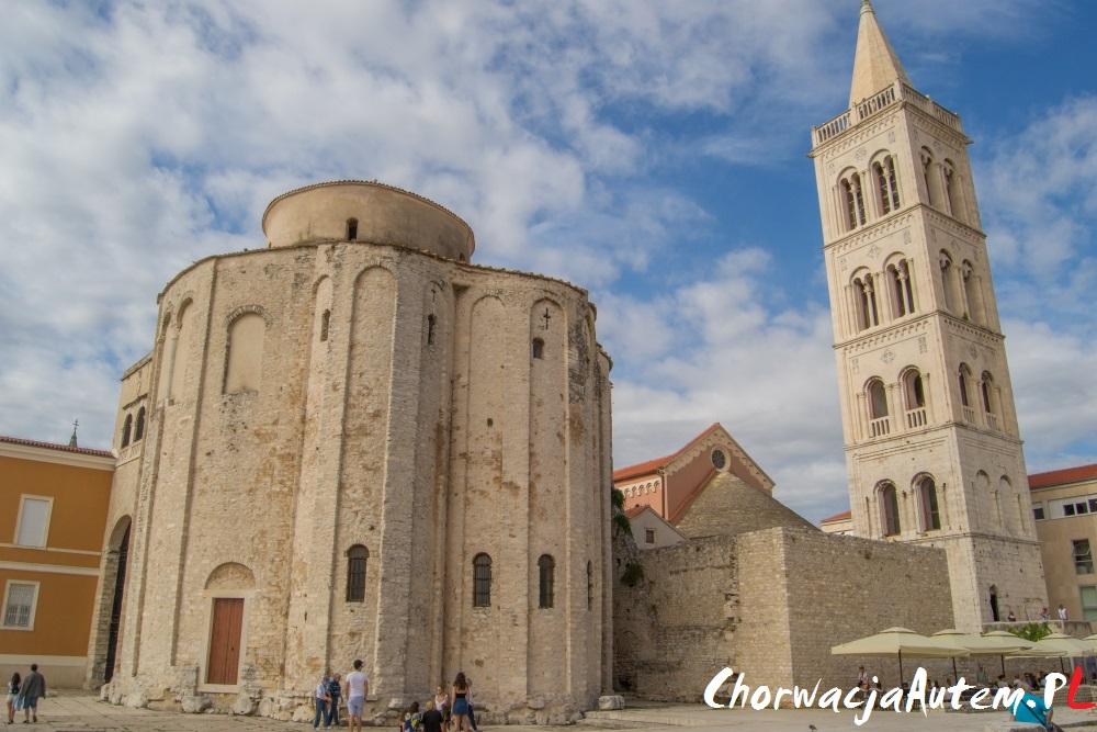 Zadar kościół św Donata