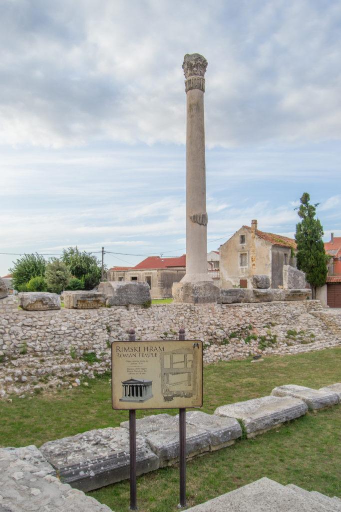 Nin rzymskie ruiny