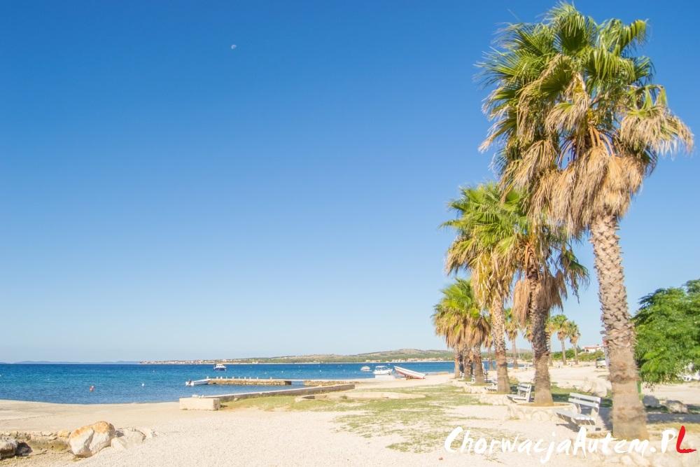 fajne plaże na wyspie Vir