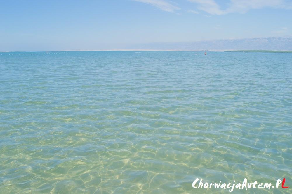piaszczysta plaża Dalmacja, Nin, Zadar, Wyspa Pag