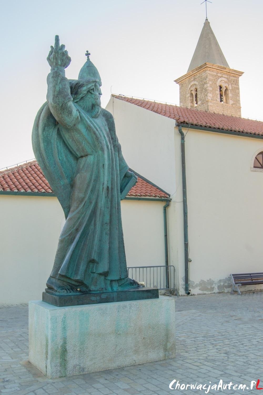 pomnik Grgru Ninskiego w Nin