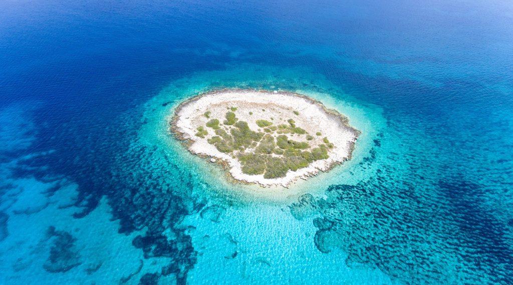 bezludne wyspy w Chorwacji