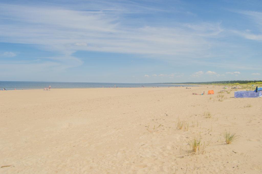 Mikoszewo bezludne plaże, na uboczu, ustronna
