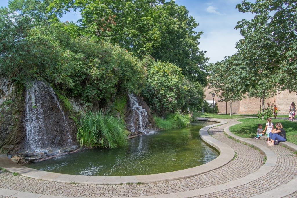 Brno atrakcje, park zamek Spilberk
