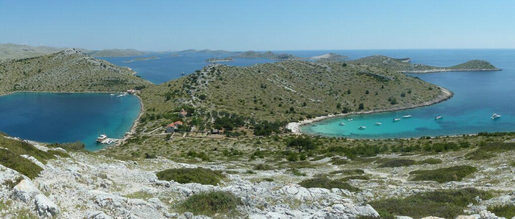 Chorwacja bezludne wyspy
