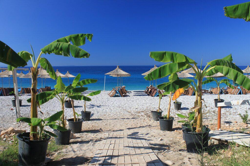 Albania, atrakcje, plaże