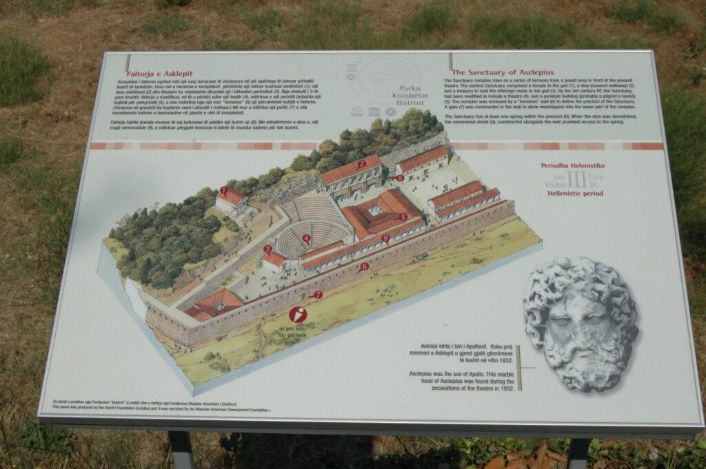 Albania atrakcje, Saranda plan