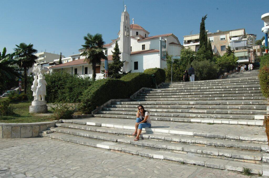 Albania atrakcje, Saranda, kościół prawosławny św. Charalambosa